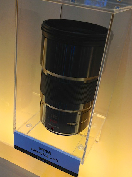 panasonic-150mm-f2.8-lens Panasonic 150mm f/2.8 lens price to be higher than $3,000 Rumors