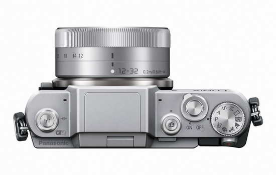 panasonic-gf7-top Panasonic GF7 Micro Four Thirds camera becomes official News and Reviews