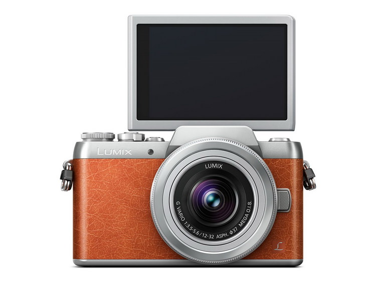panasonic-gf8-front Panasonic GF8 mirrorless camera unveiled with selfie display News and Reviews