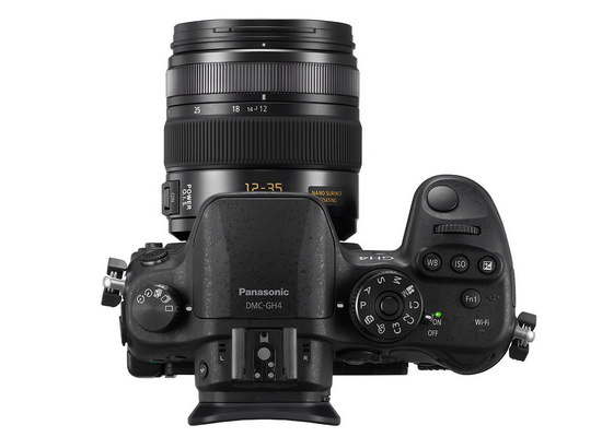 panasonic-gh4-top Panasonic GH4 4K video recording camera officially unveiled News and Reviews