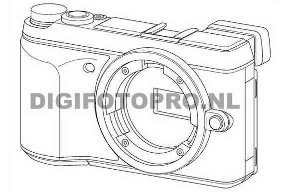 Panasonic GX7 designs leaked