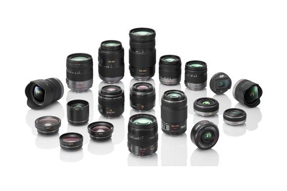 Panasonic lens line-up