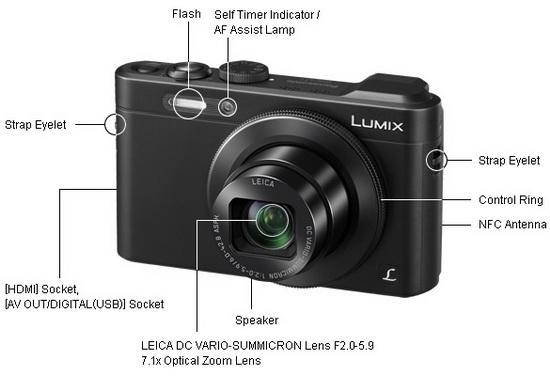 panasonic-lf1-compact-camera Panasonic LF1 compact camera price and specs announced News and Reviews