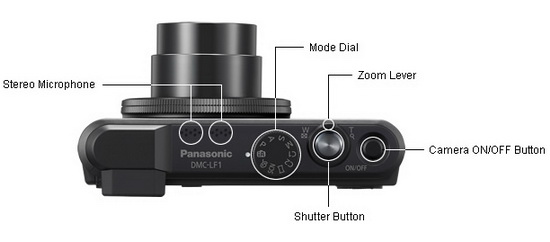 panasonic-lf1-top-controls Panasonic LF1 compact camera price and specs announced News and Reviews