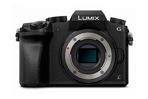 Panasonic Lumix G7 front leaked