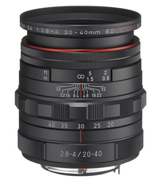pentax-20-40mm-f2.8-4-limited Official: HD Pentax DA 20-40mm f/2.8-4 ED Limited DC WR lens News and Reviews