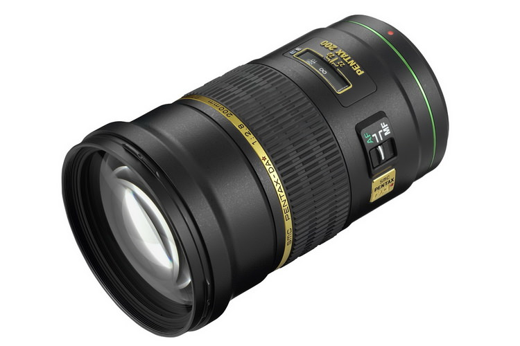 pentax 200mm f2.8 ed if sdm lens