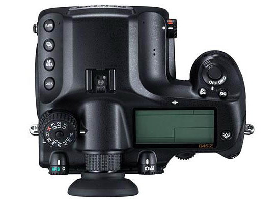 pentax-645z-top-photo-leaked Pentax 645z price, specs, and photos leaked ahead of launch event Rumors