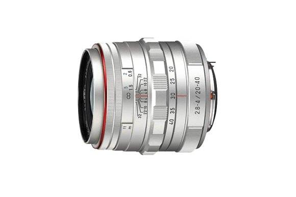 Pentax HD DA 20-40mm Silver