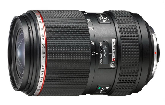 pentax-hd-da-28-45mm-f4.5-ed-aw-sr Pentax HD DA 28-45mm f/4.5 ED AW SR lens unveiled by Ricoh News and Reviews