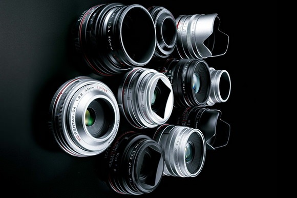 Pentax Limited lenses