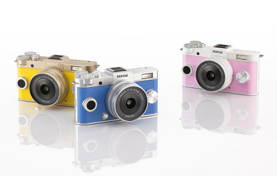 pentax-q-s1-colors Ricoh officially announces Pentax Q-S1 mirrorless camera News and Reviews