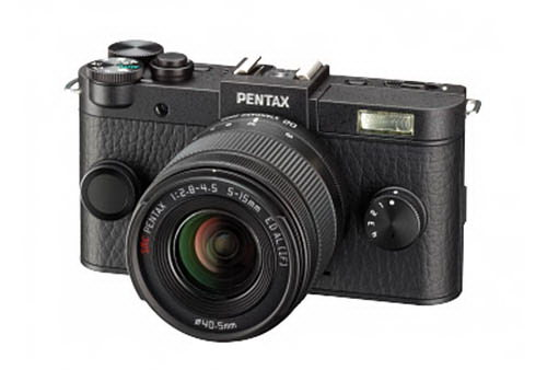 pentax-q2-black Pentax Q2 camera and 28-45mm f/4.5 lens photos leaked online Rumors
