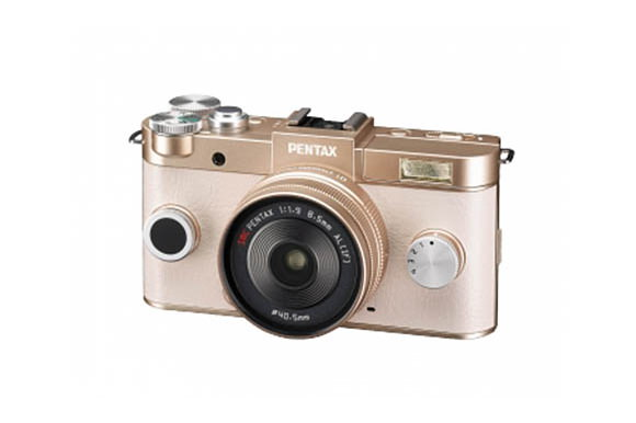 Pentax Q2 gold leaked