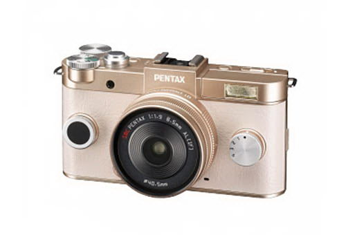 pentax-q2-gold Pentax Q2 camera and 28-45mm f/4.5 lens photos leaked online Rumors