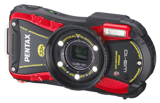 pentax-wg-10 Pentax announces new WG-10, WG-3 GPS and WG-3 ruggedized cameras News and Reviews
