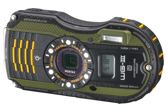 Pentax WG-3 GPS rugged camera features an altimeter