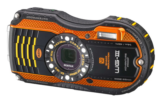 pentax-wg-3 Pentax announces new WG-10, WG-3 GPS and WG-3 ruggedized cameras News and Reviews