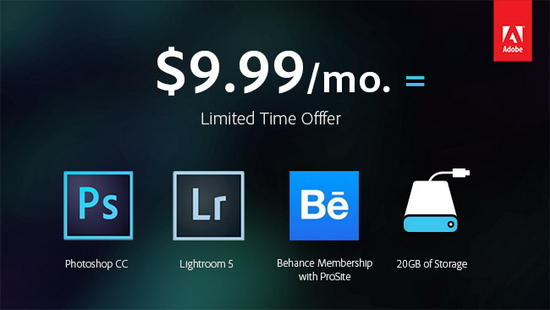 photoshop-cc-price Free Lightroom 5 available with $9.99/month Photoshop CC News and Reviews