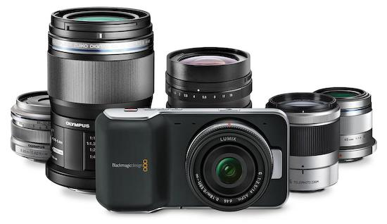 pocket-cinema-camera-lens Blackmagic Design releases news about Pocket Cinema Camera News and Reviews