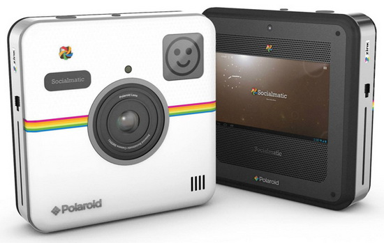 polaroid-socialmatic Polaroid iE5036W bridge camera and many others launched at CES News and Reviews