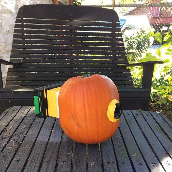 pumpkin-camera-halloween Photographer celebrates Halloween with Polaroid pumpkin camera Exposure