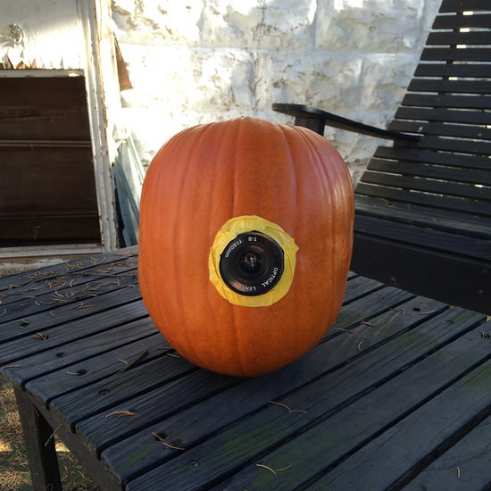 pumpkin-camera-upgrade Photographer celebrates Halloween with Polaroid pumpkin camera Exposure
