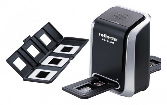 reflecta-x8-scan Reflecta x8-Scan 35mm film scanner to be released in May News and Reviews