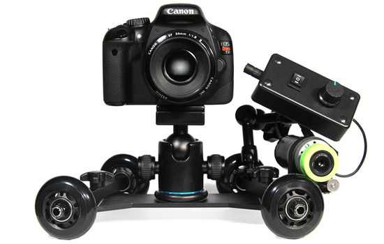 revolve-automated-motion-dolly Revolve Automated Motion ensures that you capture smooth time-lapses News and Reviews