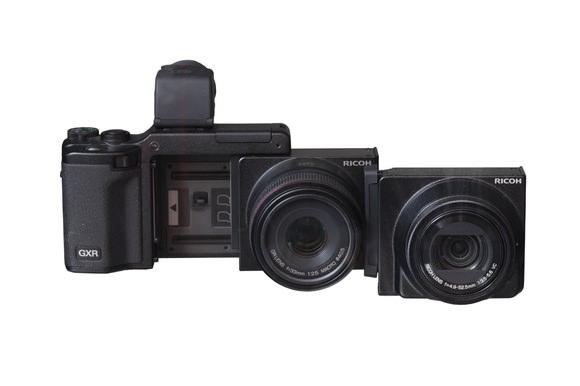 Ricoh GXR modular camera