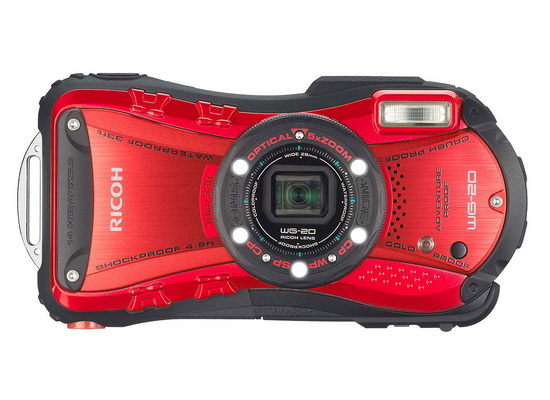ricoh-wg-20-front Ricoh WG-20 and Ricoh WG-4 / WG-4 GPS rugged compact cameras announced News and Reviews