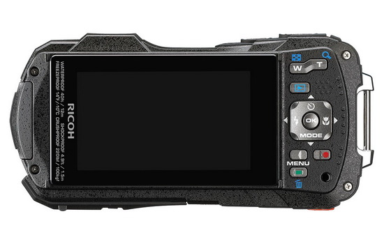 ricoh-wg-30-back Ricoh WG-30 and WG-30W rugged compact cameras announced News and Reviews
