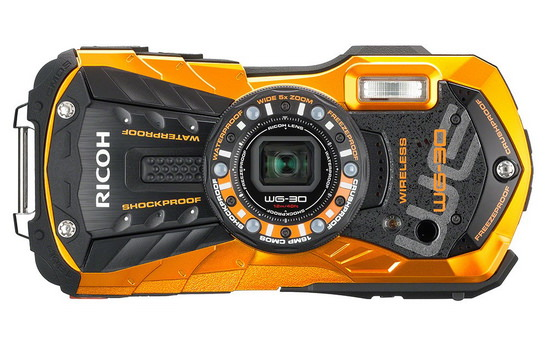 ricoh-wg-30w-front Ricoh WG-30 and WG-30W rugged compact cameras announced News and Reviews