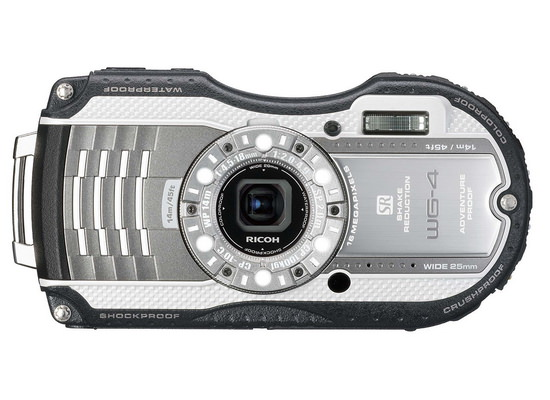 ricoh-wg-4-front Ricoh WG-20 and Ricoh WG-4 / WG-4 GPS rugged compact cameras announced News and Reviews