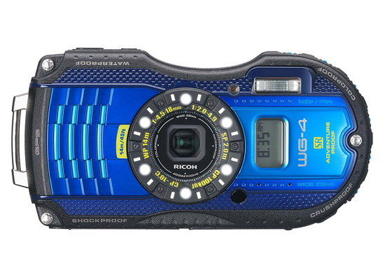 ricoh-wg-4-gps-front Ricoh WG-20 and Ricoh WG-4 / WG-4 GPS rugged compact cameras announced News and Reviews