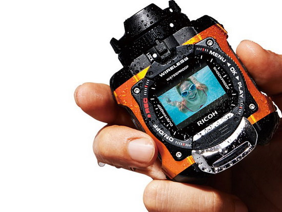 ricoh-wg-m1-waterproof Ricoh WG-M1 action camera can go underwater without a case News and Reviews