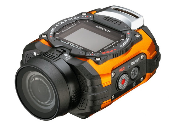 ricoh-wg-m1 Ricoh WG-M1 action camera can go underwater without a case News and Reviews