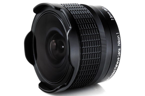 Rokinon 7.5mm f/8 RMC fisheye