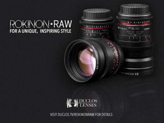 rokinon-raw-cine-primes Duclos Lenses unveils custom Rokinon Raw cine primes News and Reviews