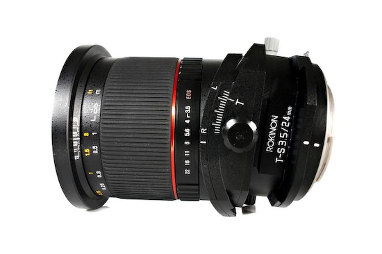 rokinon-tilt-shift-24mm-3.5 Rokinon Tilt-Shift 24mm F/3.5 release date announced for May 02 2013 News and Reviews