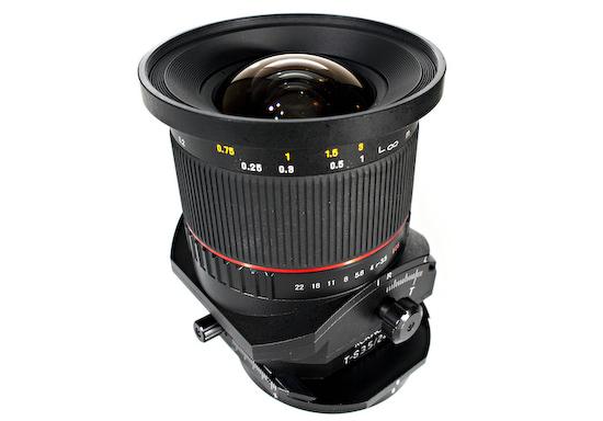 rokinon-tilt-shift-24mm-lens Rokinon Tilt-Shift 24mm F/3.5 release date announced for May 02 2013 News and Reviews