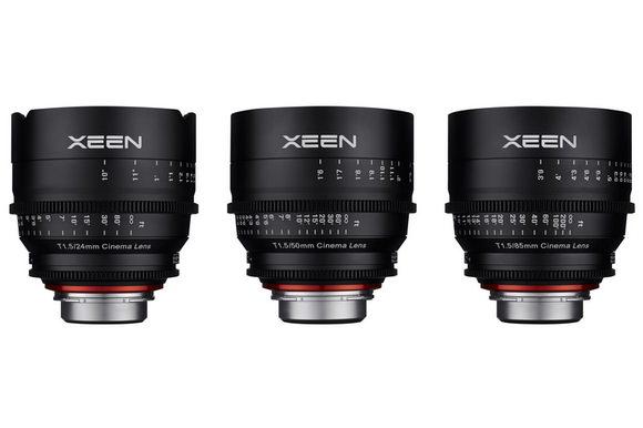 Rokinon XEEN lenses