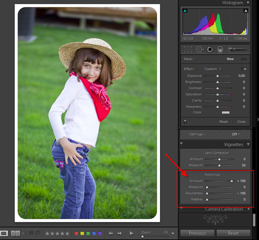rounded-corners-in-lr Quick Tip: How to Make a Rounded Corners Border in Lightroom Lightroom Tutorials Photoshop Tips & Tutorials