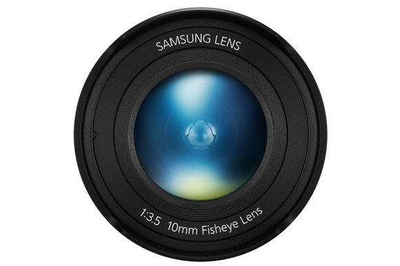 Samsung 10mm f/3.5 ultra wide-angle lens