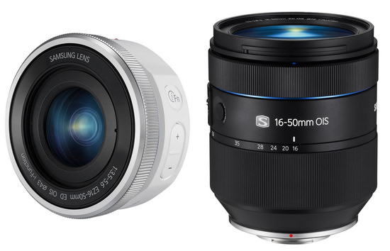 samsung-16-50mm-lenses Samsung NX30, Galaxy Camera 2, and two 16-50mm lenses launched News and Reviews
