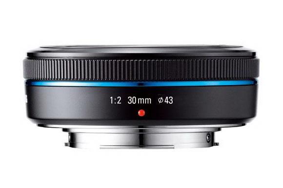Samsung 30mm f/2 lens