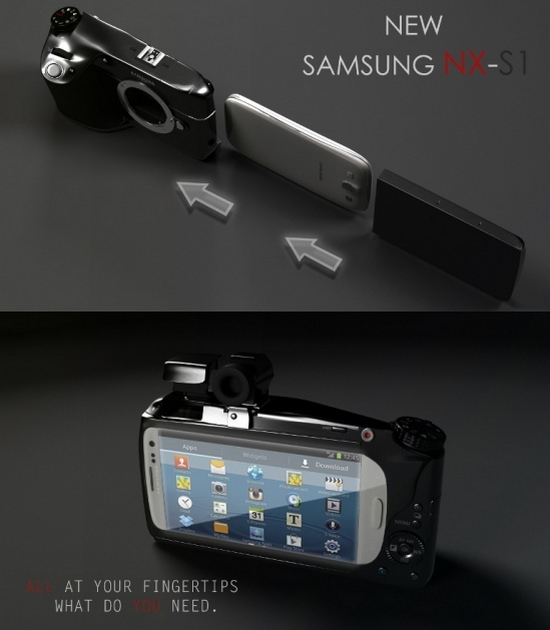 samsung-nx-s1-concept Nikon smartphone camera patent shows up on online Rumors