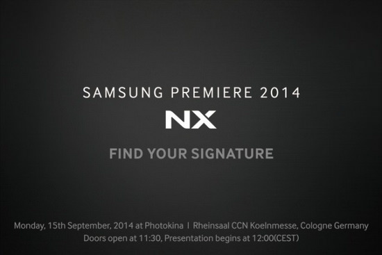 samsung-nx1-invitation Samsung NX1 teaser reveals September 15 announcement date Rumors
