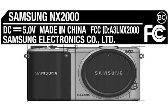 Samsung NX2000 FCC approval