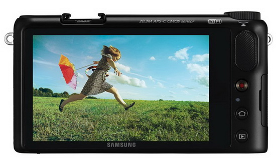 samsung-nx2000-touchscreen-lcd Samsung NX2000 officially announced with NFC and WiFi News and Reviews